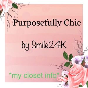 Other - Purposefully Chic by Smile24k